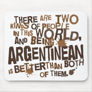 Argentinean Gift (Funny) Mouse Pad