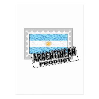Argentinean product postcard
