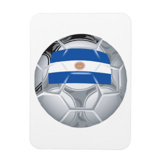 Argentinean Soccer Ball Magnet