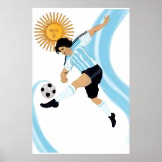 Argentinian 2014 Futbol futbol Argentina Poster