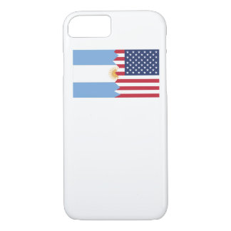 Argentinian American Flag iPhone 8/7 Case