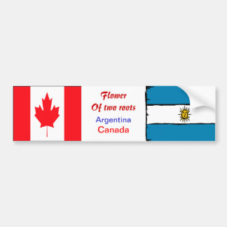 Argentinian-canadian bumper stickers