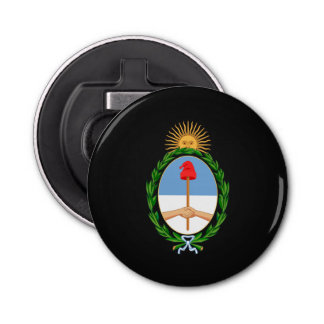 Argentinian coat of arms bottle opener
