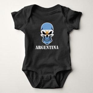 Argentina Skull Baby Clothes Apparel Zazzle