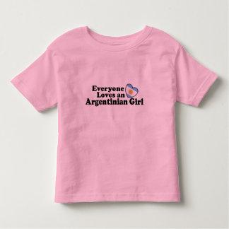 Argentinian Girl Toddler T-shirt
