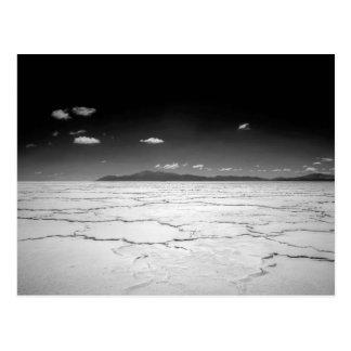 Argentinian Salt Flats Desert And Mountains Postcard