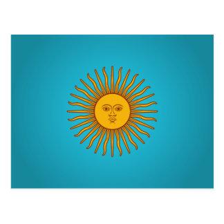 Argentinian Sol de Mayo Postcard