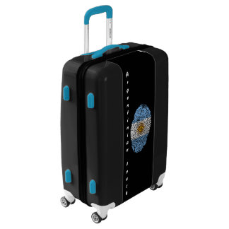 Argentinian touch fingerprint flag luggage