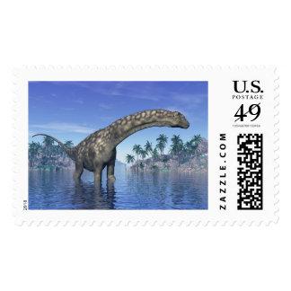 Argentinosaurus dinosaur - 3D render Postage