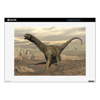 "Argentinosaurus dinosaur walk - 3D render Decals For 15"" Laptops"