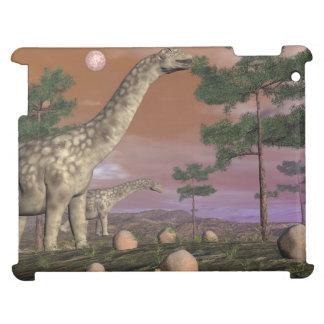Argentinosaurus dinosaurs - 3D render iPad Covers
