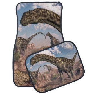Argentinosaurus dinosaursv car floor mat