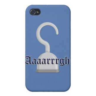 Argh! Captain Hook Pirate iPhone Case
