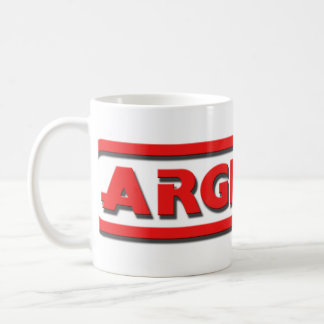 ARGH signature logo mug