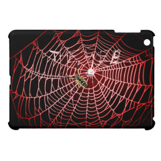 "Argiope Spider web, webbing ""The Web"" blue Cover For The iPad Mini"