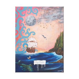 Argo Navis by Josephine DeFrancis Wrapped Canvas