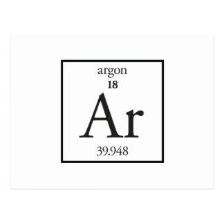 Argon Postcard