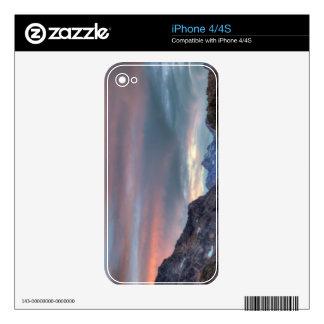 Argonaut Peak, sunset Decals For The iPhone 4S