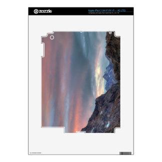 Argonaut Peak, sunset iPad 3 Skin