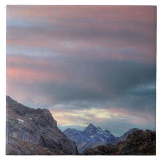 Argonaut Peak, sunset Tile