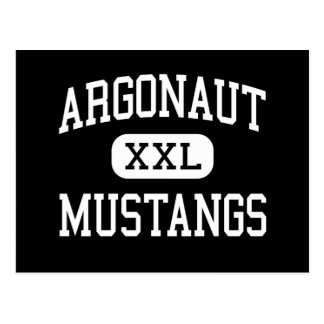 Argonauta - mustangos - alto - Jackson California Postal