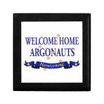 Argonautas caseros agradables caja de recuerdo
