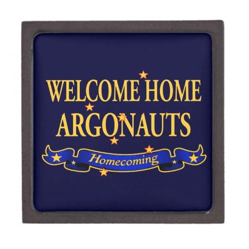 Argonautas caseros agradables caja de joyas de calidad