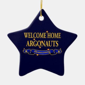 Argonautas caseros agradables ornamentos de reyes