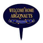 Argonautas caseros agradables figuras para tartas