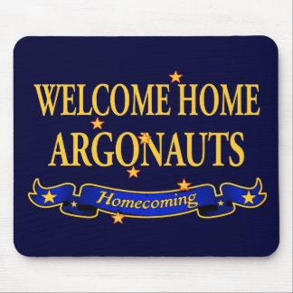 Argonautas caseros agradables tapetes de ratón