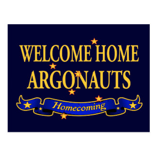 Argonautas caseros agradables postal