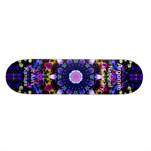 Argonne - Heaven's Reprise of the Blue Universe Skate Deck