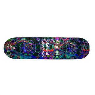 Argonne - Time Travel Through the Worm Hole Skateboard Deck