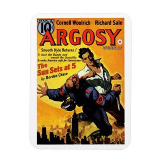 """""""Argosy"""" imán de marzo de 1940"""