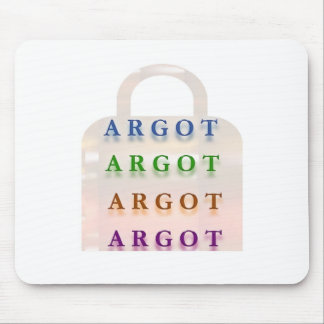 ARGOT :  French Mischief Words Mouse Pad