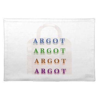 ARGOT :  French Mischief Words Place Mats
