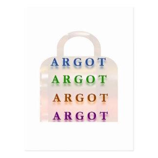 ARGOT :  French Mischief Words Postcard