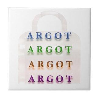 ARGOT:  Palabras francesas de la travesura Azulejos