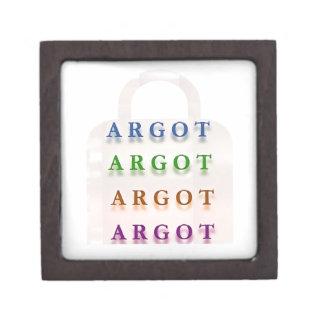ARGOT Palabras francesas de la travesura Caja De Regalo De Calidad