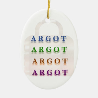 ARGOT:  Palabras francesas de la travesura Ornamento De Reyes Magos