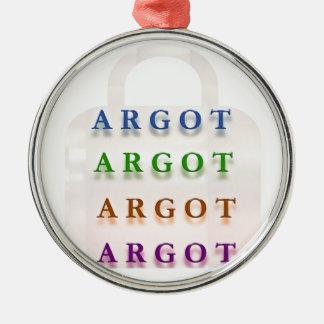 ARGOT:  Palabras francesas de la travesura Ornamento De Navidad