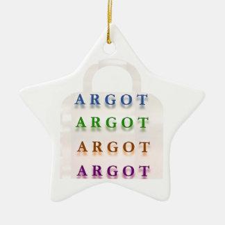 ARGOT:  Palabras francesas de la travesura Ornaments Para Arbol De Navidad