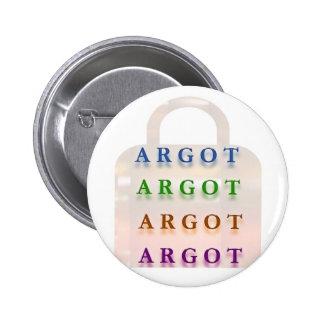 ARGOT:  Palabras francesas de la travesura Pin Redondo De 2 Pulgadas
