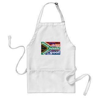 Argot y colonialisms surafricanos delantal