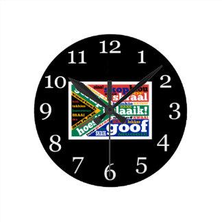 Argot y colonialisms surafricanos reloj