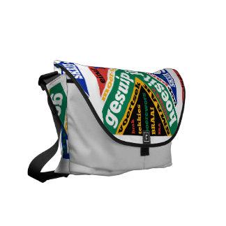 Argot y coloquialismos surafricanos bolsa de mensajería