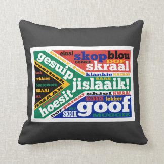 Argot y coloquialismos surafricanos cojines
