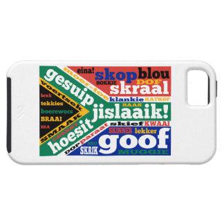 Argot y coloquialismos surafricanos iPhone 5 Case-Mate protectores