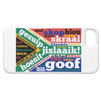 Argot y coloquialismos surafricanos iPhone 5 fundas