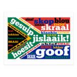 Argot y coloquialismos surafricanos tarjetas postales